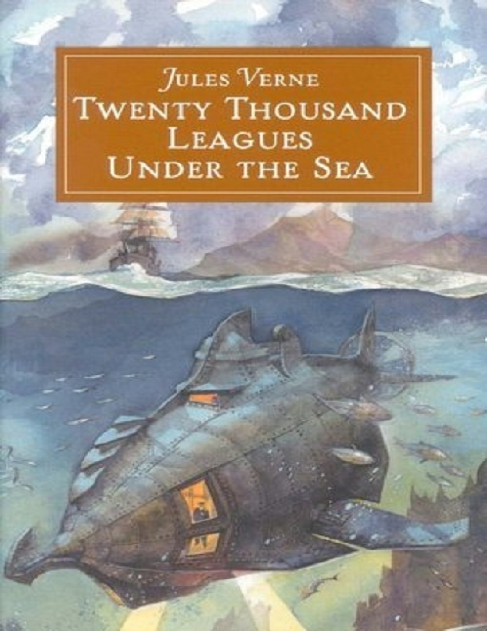 Twenty thousand leagues under the sea book report