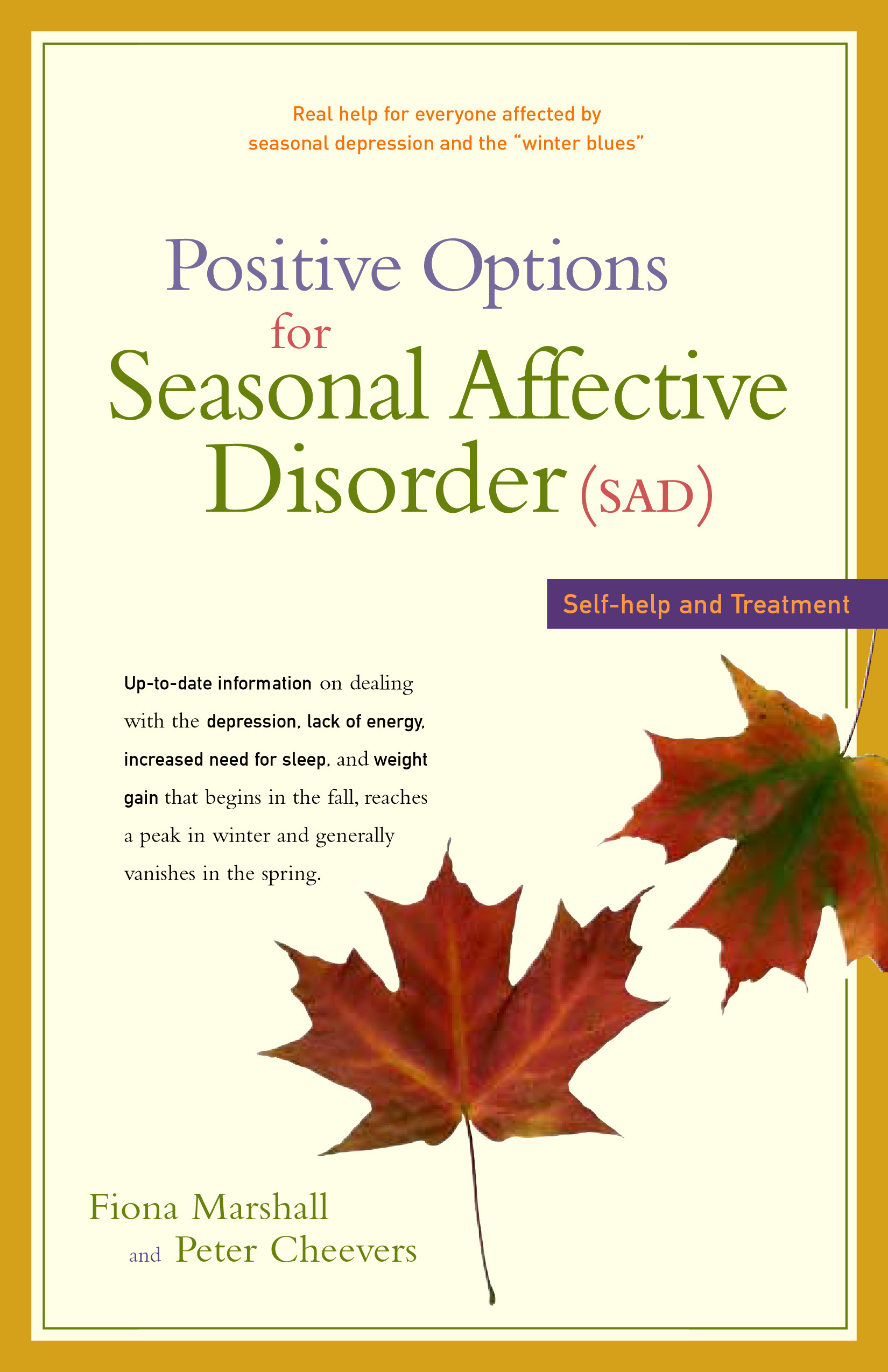 the symptoms and treatment for seasonal affective disorder