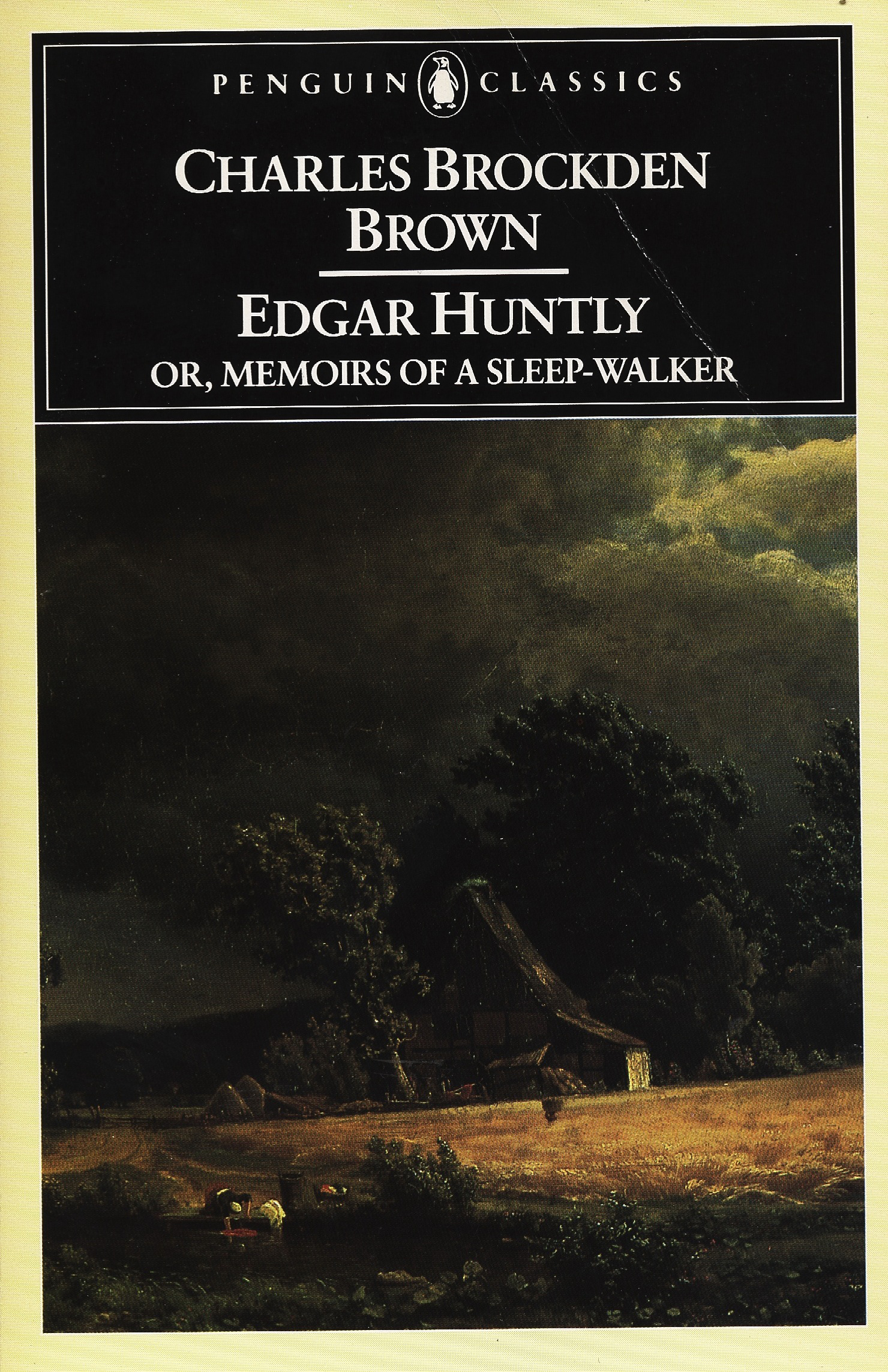 edgar huntly This biography is reprinted with the permission of broadview press from mary chapman's edition 5 qu in clark intro to charles brockden brown,edgar huntly.