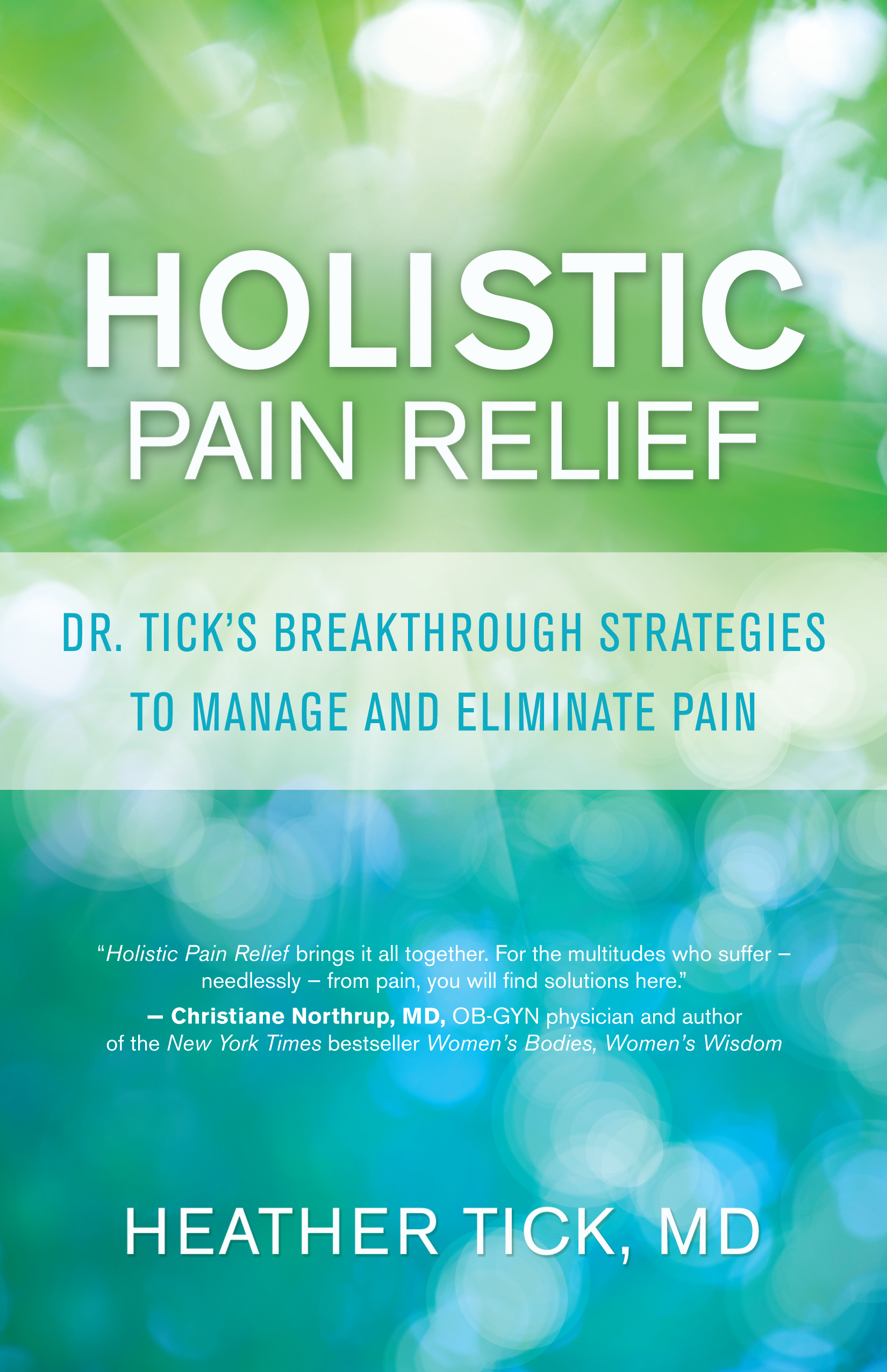 holistic pain management Integrative pain medicine: a holistic model of care heather tick, md gunn-loke endowed professor for integrative pain medicine management than on health pro.