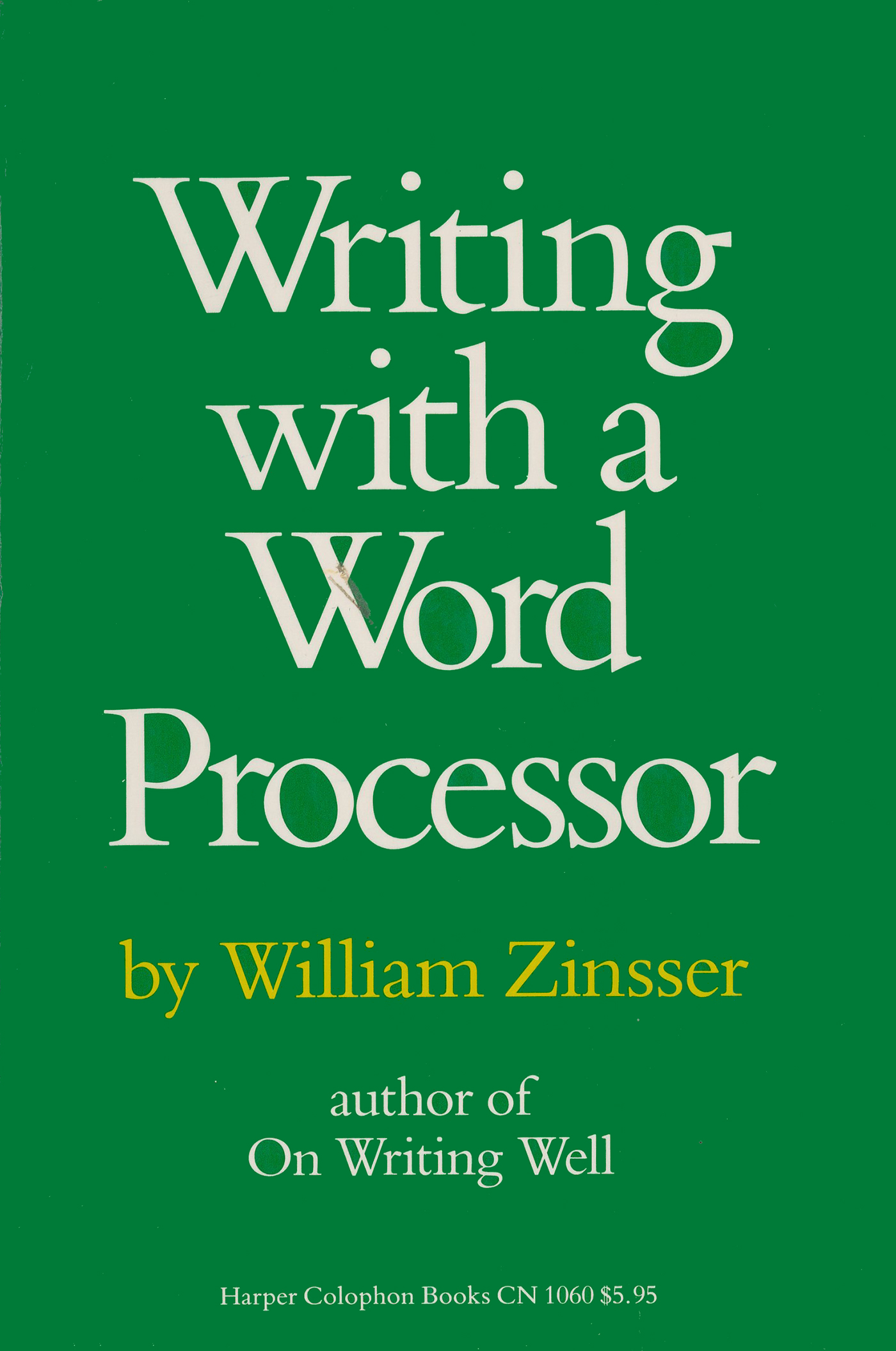 analysis paper zinssers book on writing 2 essay